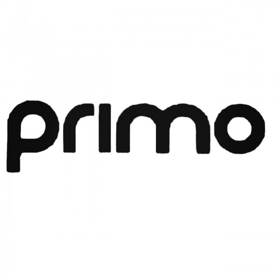 Primo Text Inner Decal Sticker