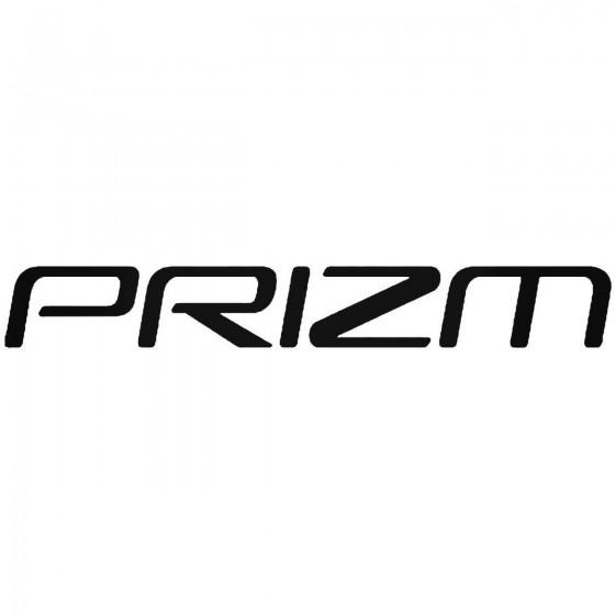Prizm Vinyl Decal Sticker
