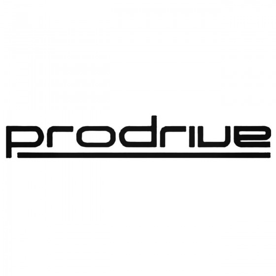 Prodrive Aftermarket Decal...