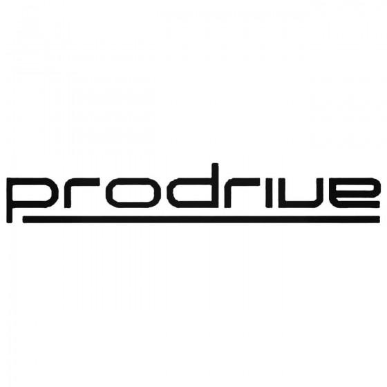 Prodrive Decal Sticker