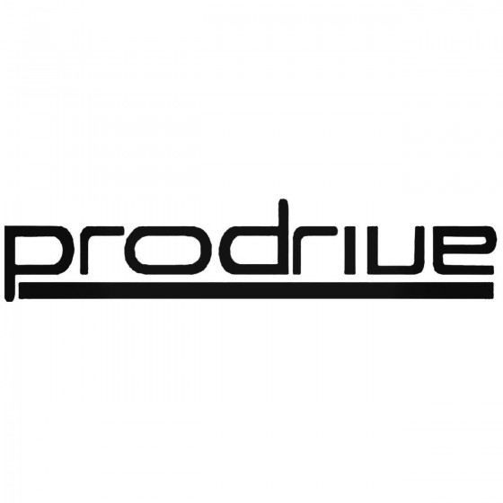 Prodrive Graphic Decal Sticker