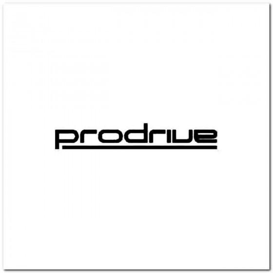 Prodrive Vinyl Decal