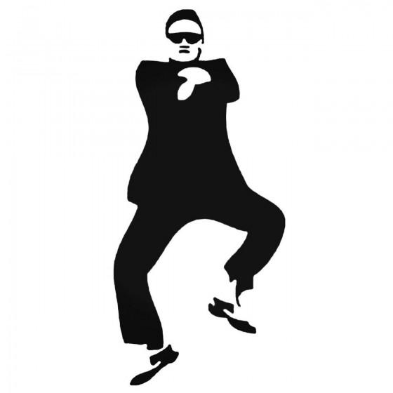 Psy Gangnam Style Decal...