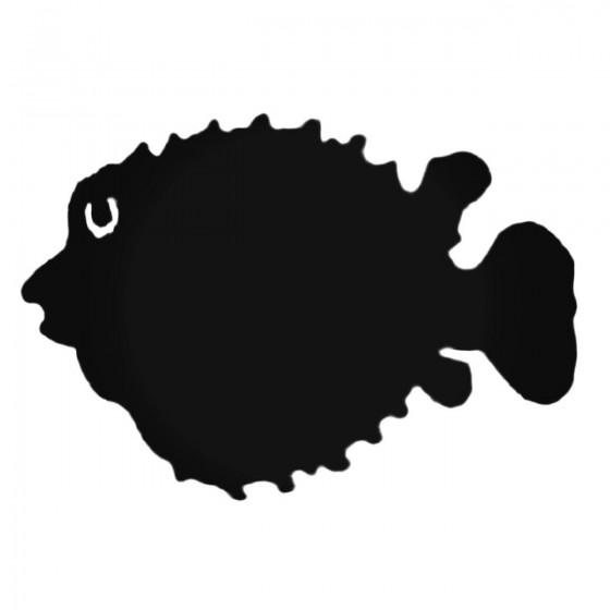Puffer Fish Decal Sticker