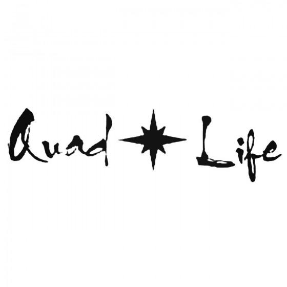 Quad Life Polaris Decal...