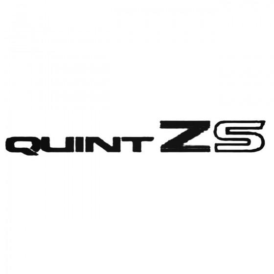 Quint Zs Decal Sticker