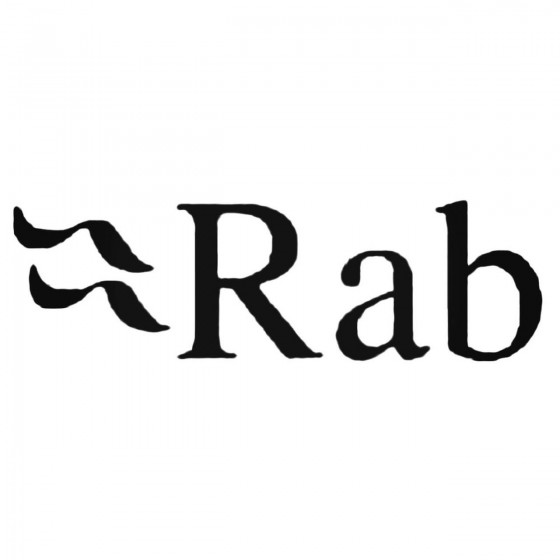 Rab Decal Sticker