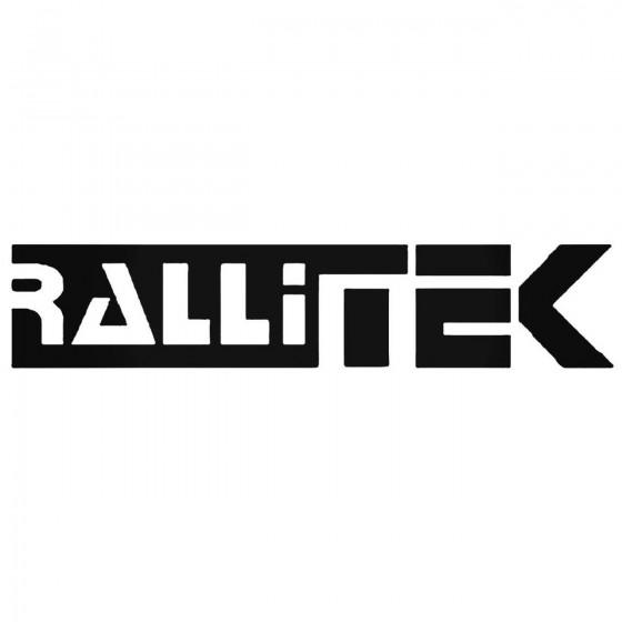 Rallitek Decal Sticker
