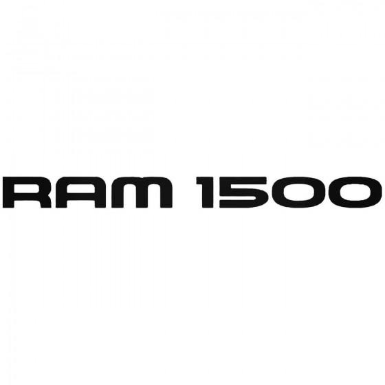 Ram 1500 Graphic Decal Sticker