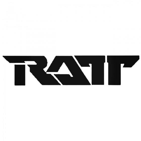 Ratt Decal Sticker