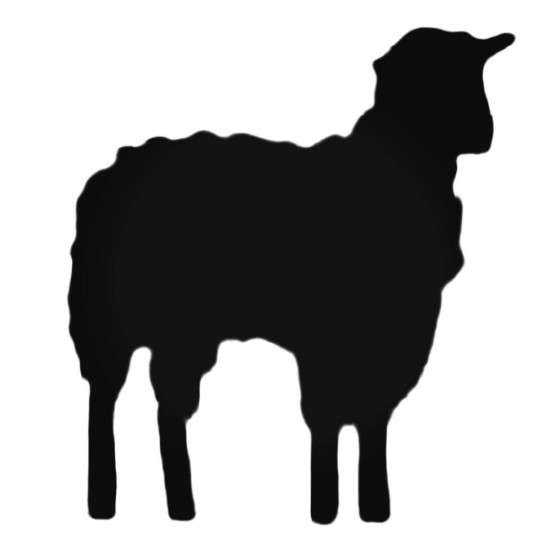 Realistic Sheep Decal Sticker