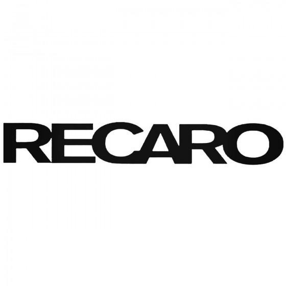 Recaro 2 Graphic Decal Sticker