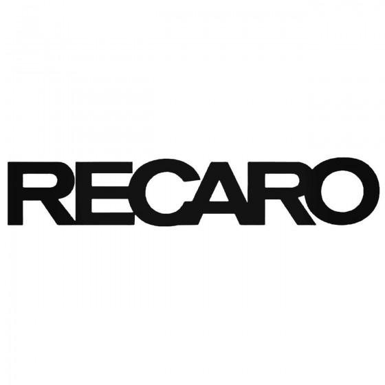 Recaro S Vinl Car Graphics...