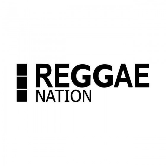 Reggae Nation Vinyl Decal...