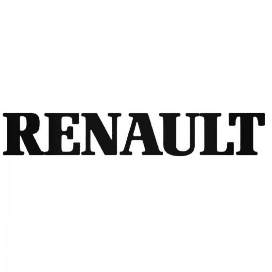 Renault 1 Decal Sticker