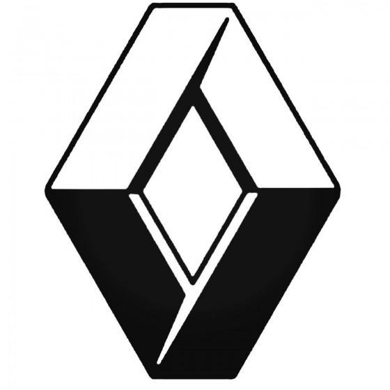Renault Logo 1 Decal Sticker