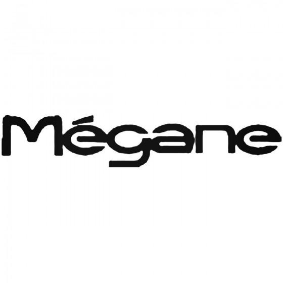 Renault Megane Vinyl Decal