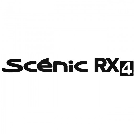 Renault Scenic Rx4 Decal...