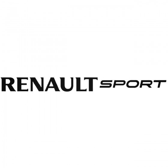 Renault Sport 2 Decal...
