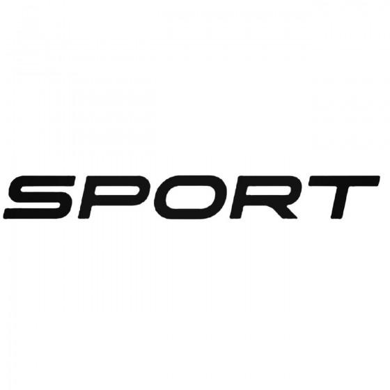Renault Sport Decal Sticker