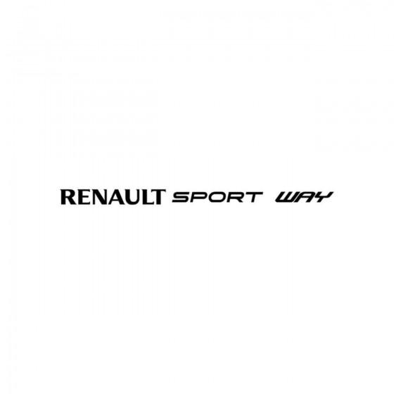 Renault Sport Way Vinyl...