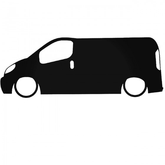 Renault Trafic Low Decal...