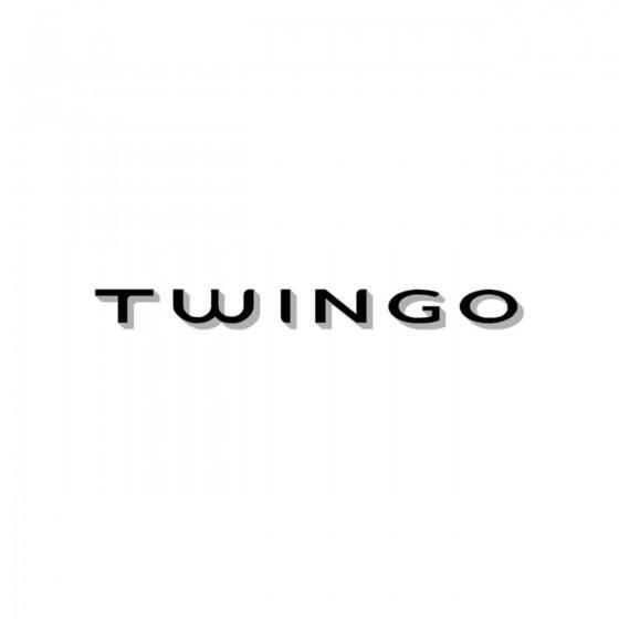 Renault Twingo Vinyl Decal...