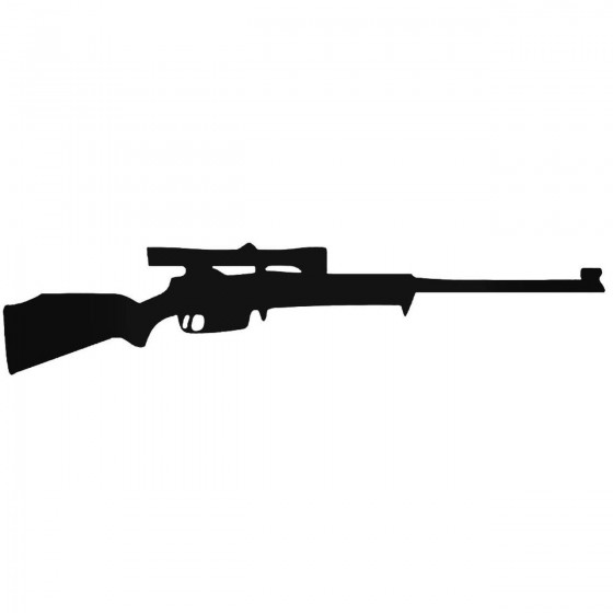 Rifle 3 Decal Sticker 1