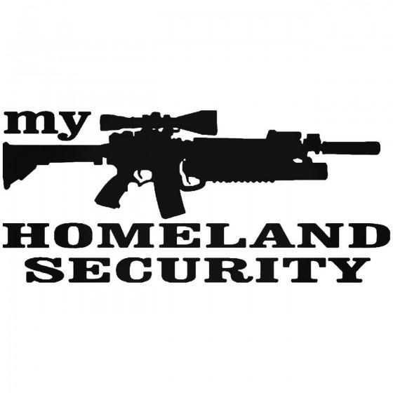 Rifle Homeland Security Gun...