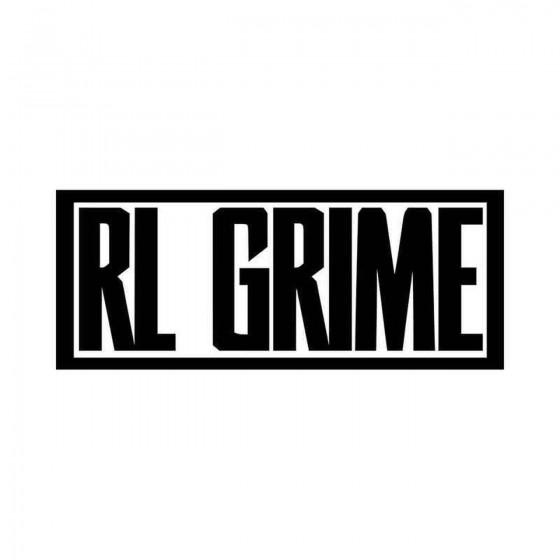 Rl Grime Logo Vinyl Decal...