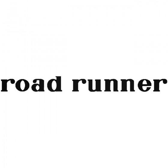 Road Runner Vinyl Decal...
