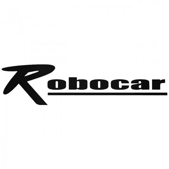 Robocar Graphic Decal Sticker