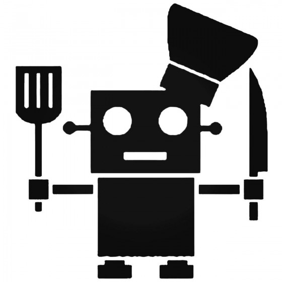 Robot Chef Cook V1 Decal...