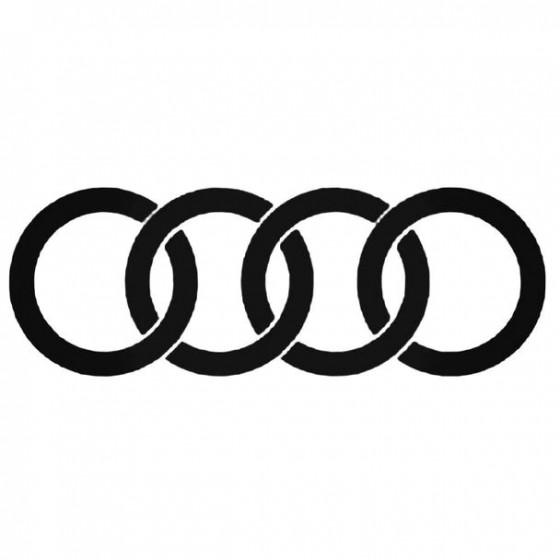 Audi 3 2 Decal Sticker