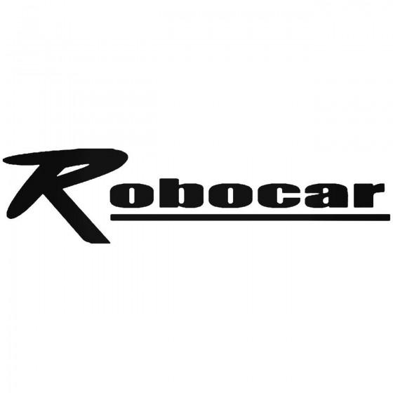 Robo Vinyl Decal Sticker