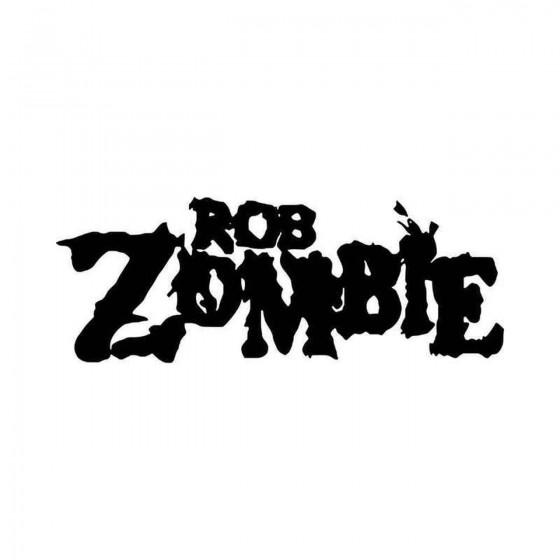 Rob Zombie Logo Vinyl Decal...