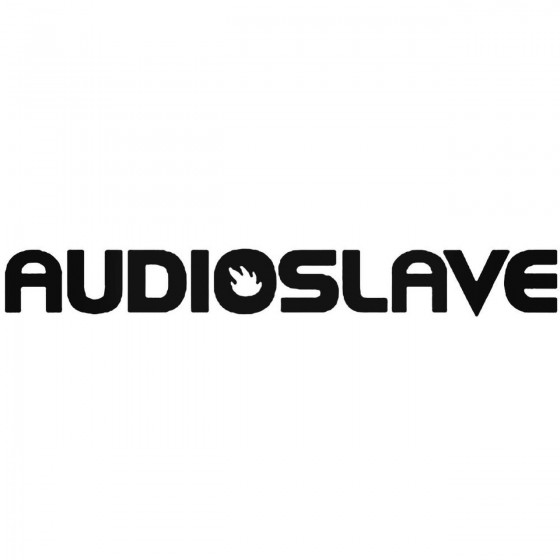 Rock Band S Audio Slave Decal