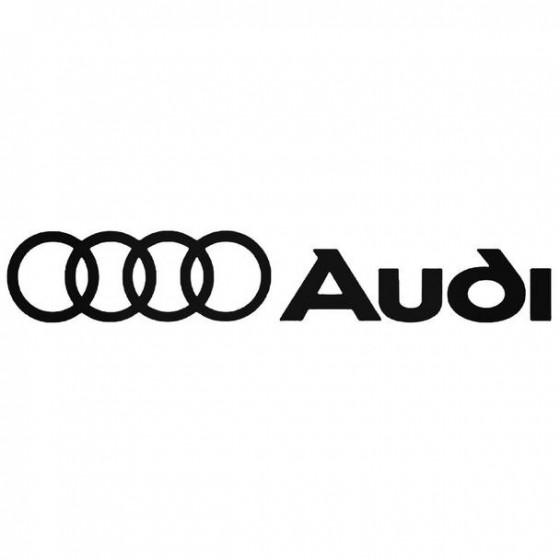 Audi 4 Decal Sticker
