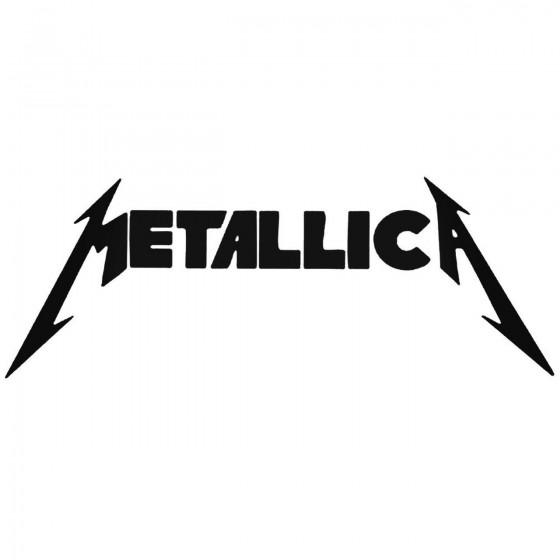 Rock Band S Metallica Decal