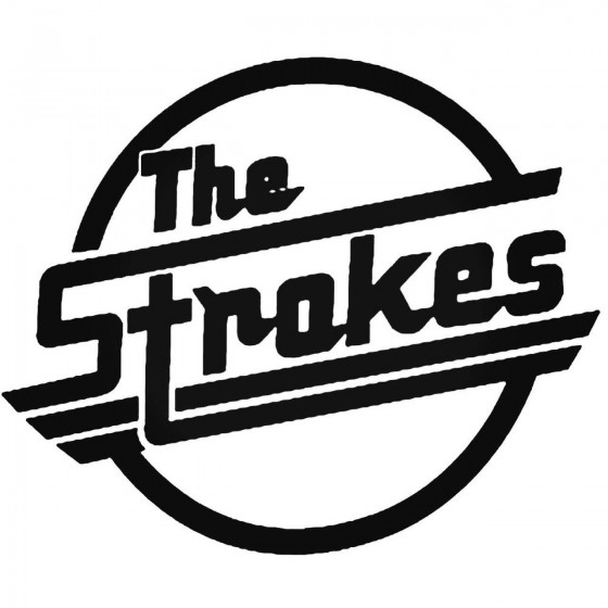 Rock Band S The Strokes Decal