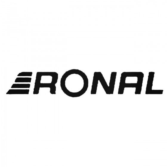 Ronal Wheels Decal Sticker