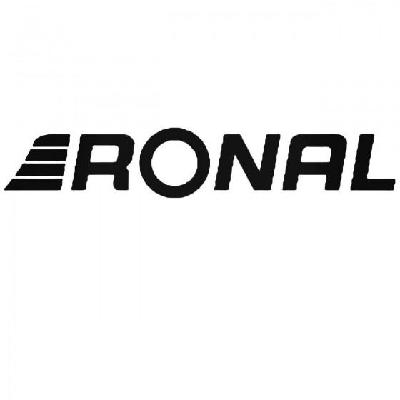 Ronal Wheels S Vinl Car...