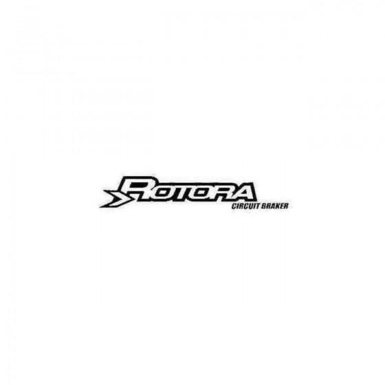 Rotora Brakes Decal Sticker