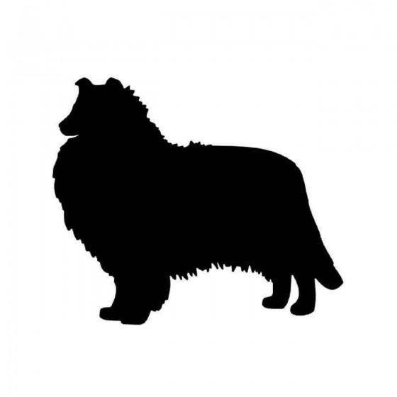 Rough Collie Dog 1 Vinyl...