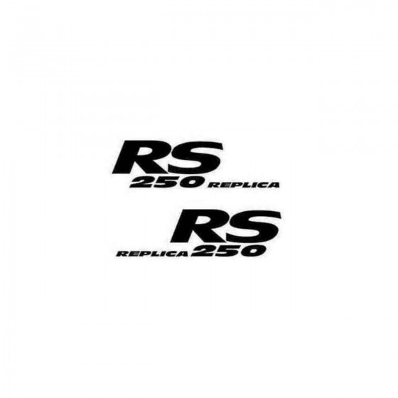 Rs 250 Replica S Decal Sticker