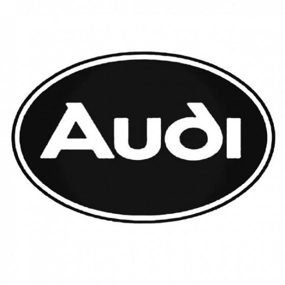Audi 9 Decal Sticker