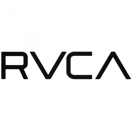 Rvca Logo Vinyl Decal Sticker