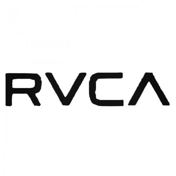 Rvca Text Decal Sticker
