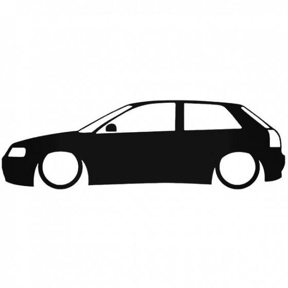 Audi A3 8L Low Sticker