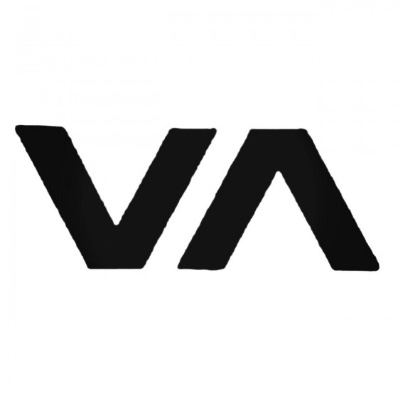Rvca Va Decal Sticker